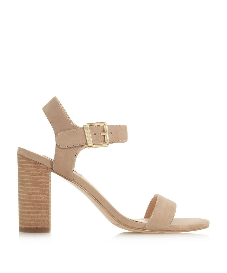 Image for Dune Ladies ISOBEL Two Part Stacked Heel Sandals