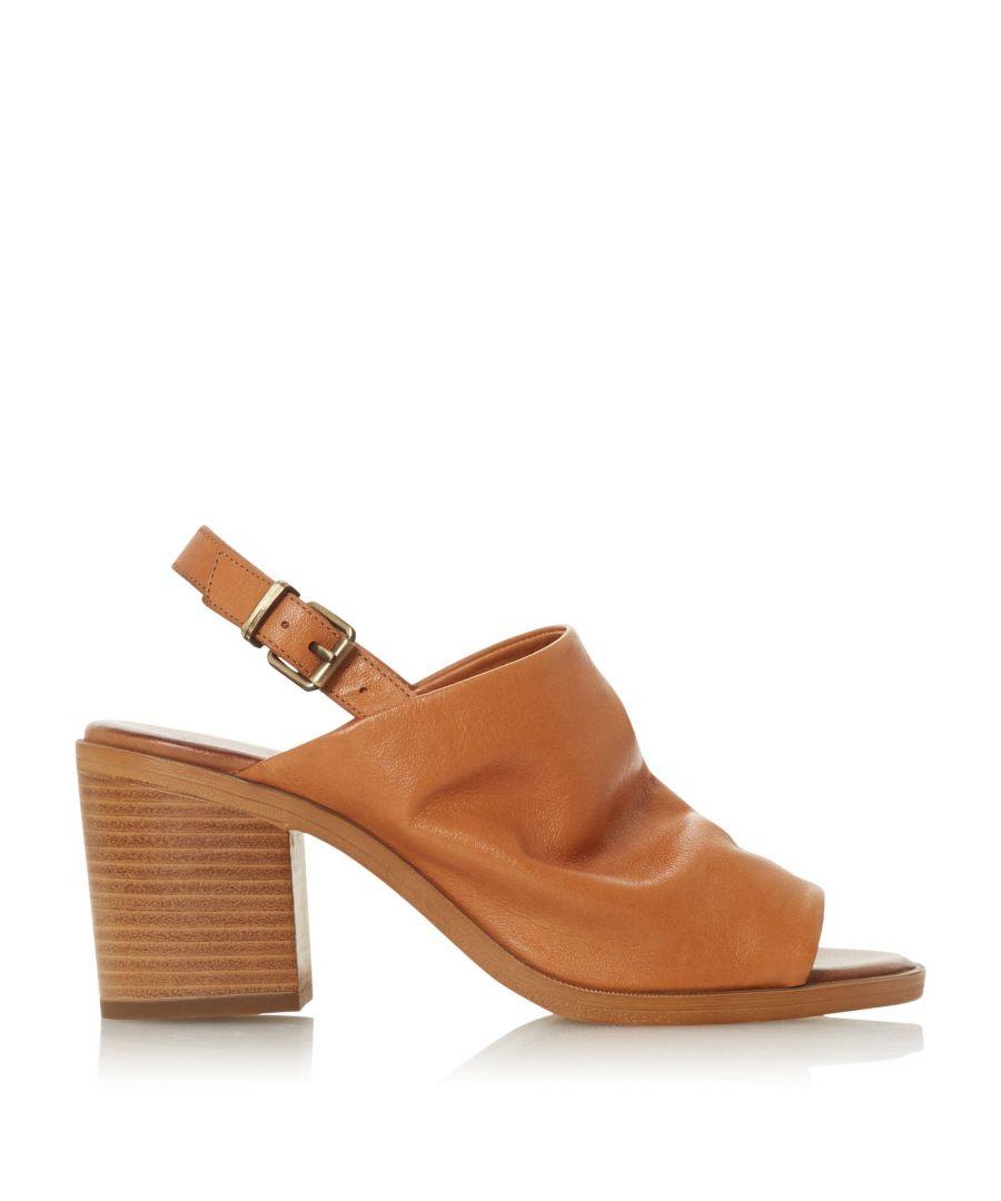 Image for Bertie Ladies ISSI Slingback Block Heel Sandals