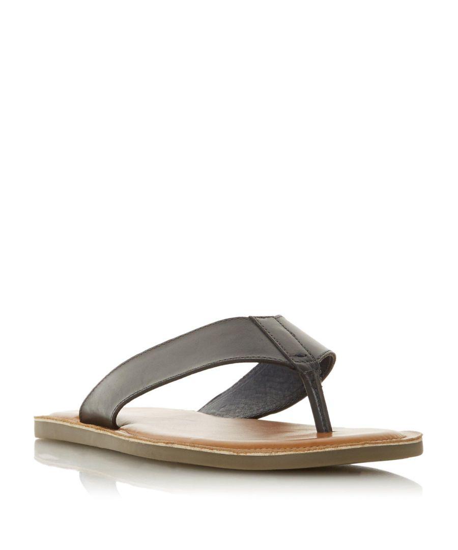 Image for Dune Mens IVAN Toepost Sandal