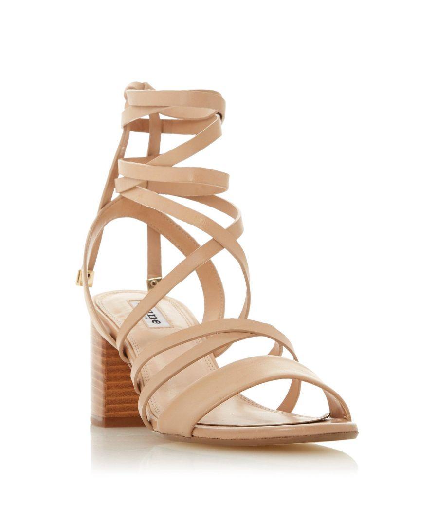 Image for Dune Ladies IVANNI Block Heel strappy Sandal