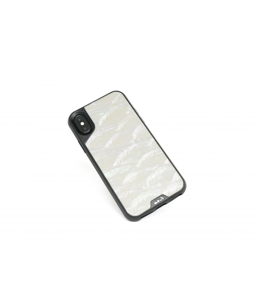 Image for Mous - Protective Case for iPhone XS Max - Limitless 2.0 - White Shell - Screen Protector Included