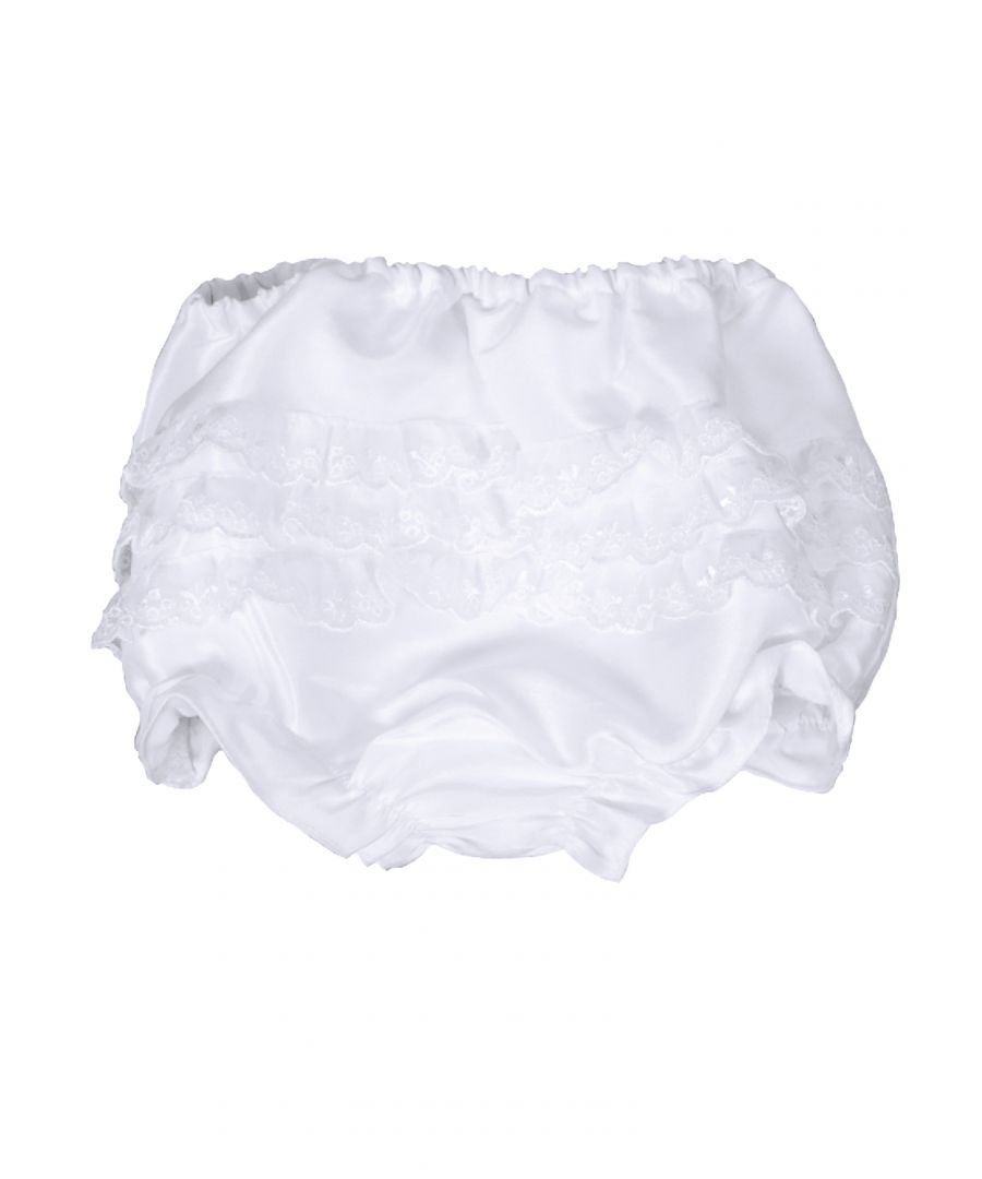 Image for Baby Frilly White Knickers