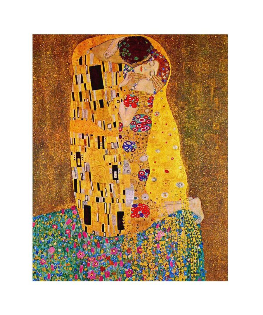 Image for Canvas Print - The Kiss (Klimt) - Gustav Klimt