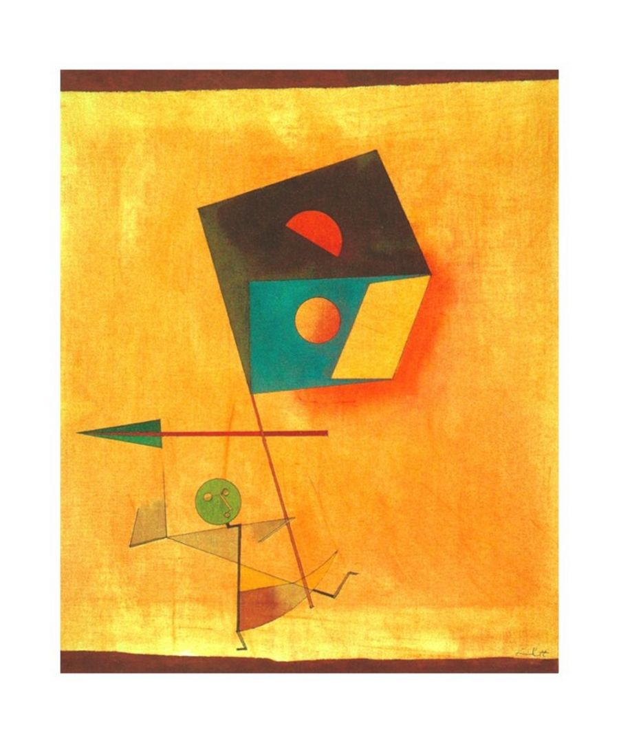 Image for Canvas Print - Conqueror - Paul Klee Cm. 50x60