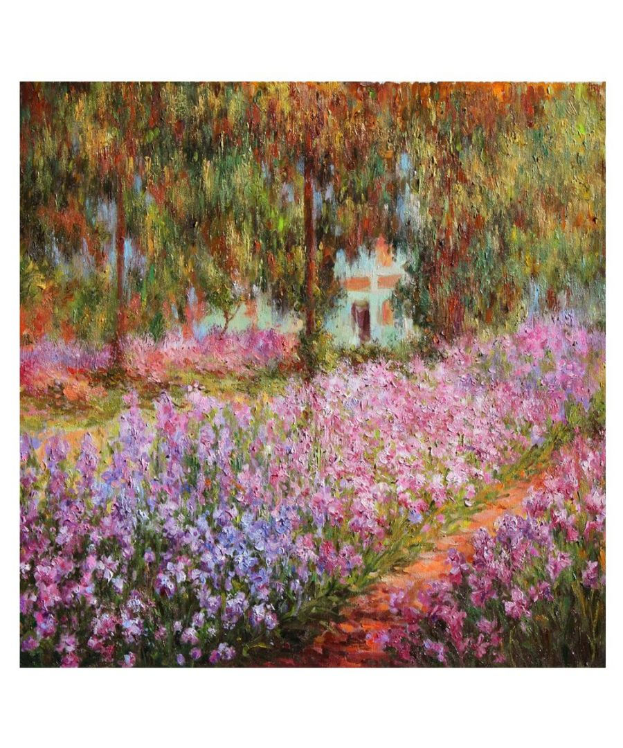 Image for Canvas Print - The Garden - Claude Monet