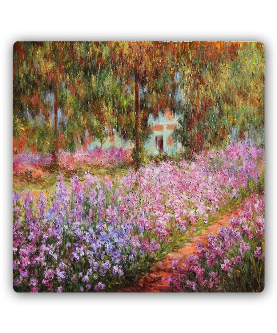 Image for Metal Print - The Garden - Claude Monet