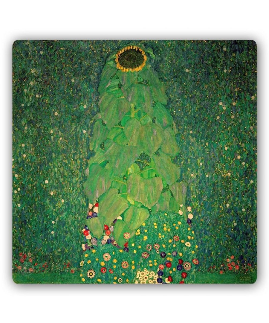 Image for Metal Print - The Sunflower - Gustav Klimt