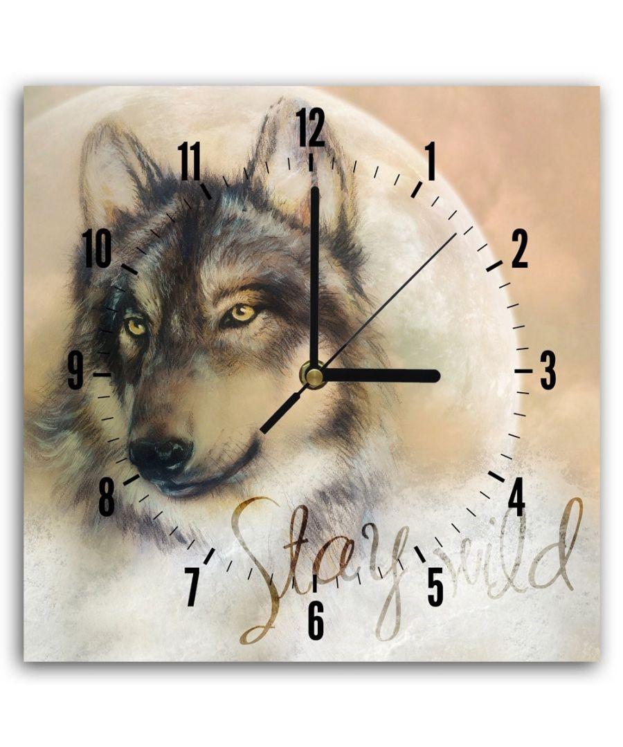 Image for Wall Clock - The Wolf In Us Cm. 30x30