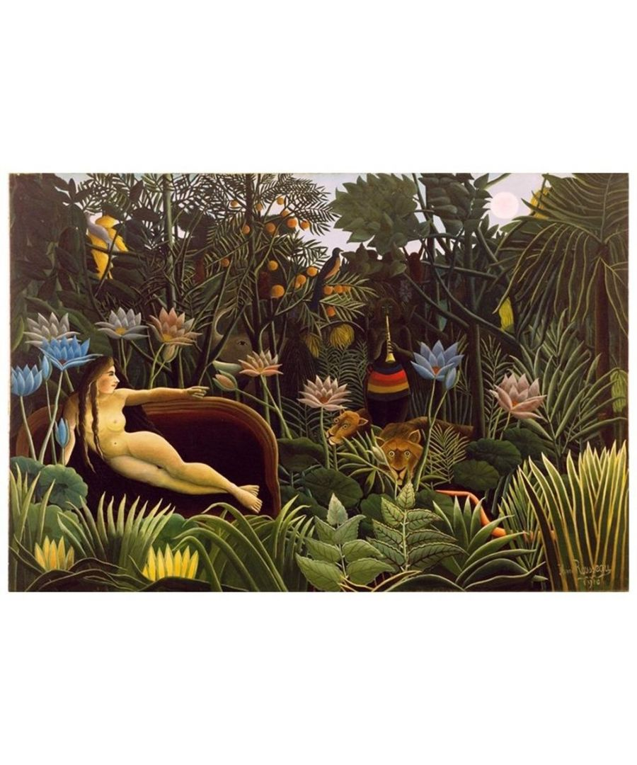 Image for Canvas Print - The Dream - Henri Rousseau Cm. 80x120