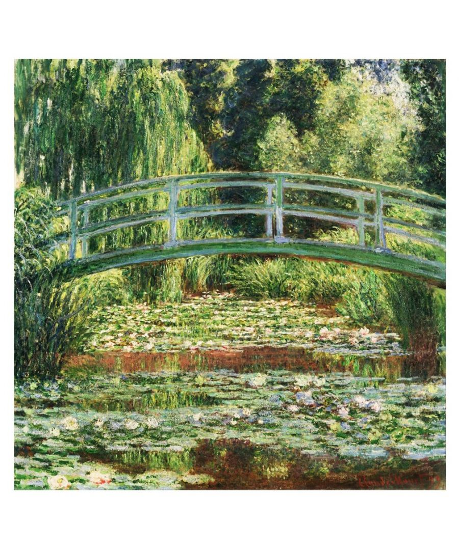 Image for Canvas Print - Japanese Footbridge - Claude Monet