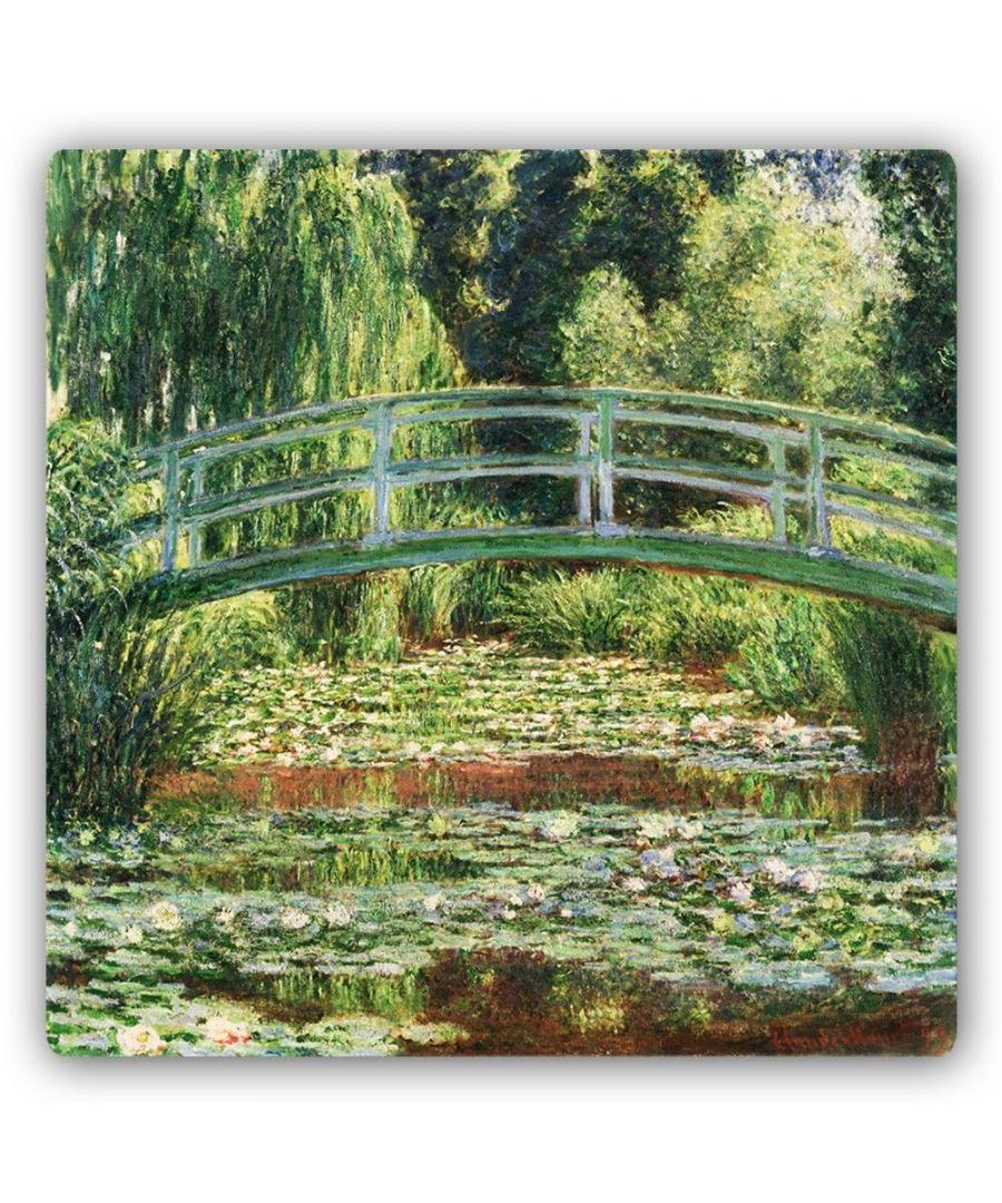 Image for Metal Print - Japanese Footbridge - Claude Monet