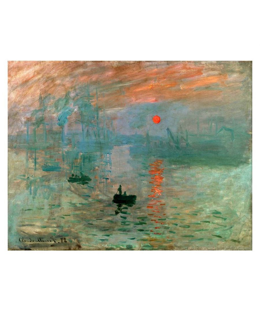 Image for Canvas Print - Impression. Sunrise - Claude Monet