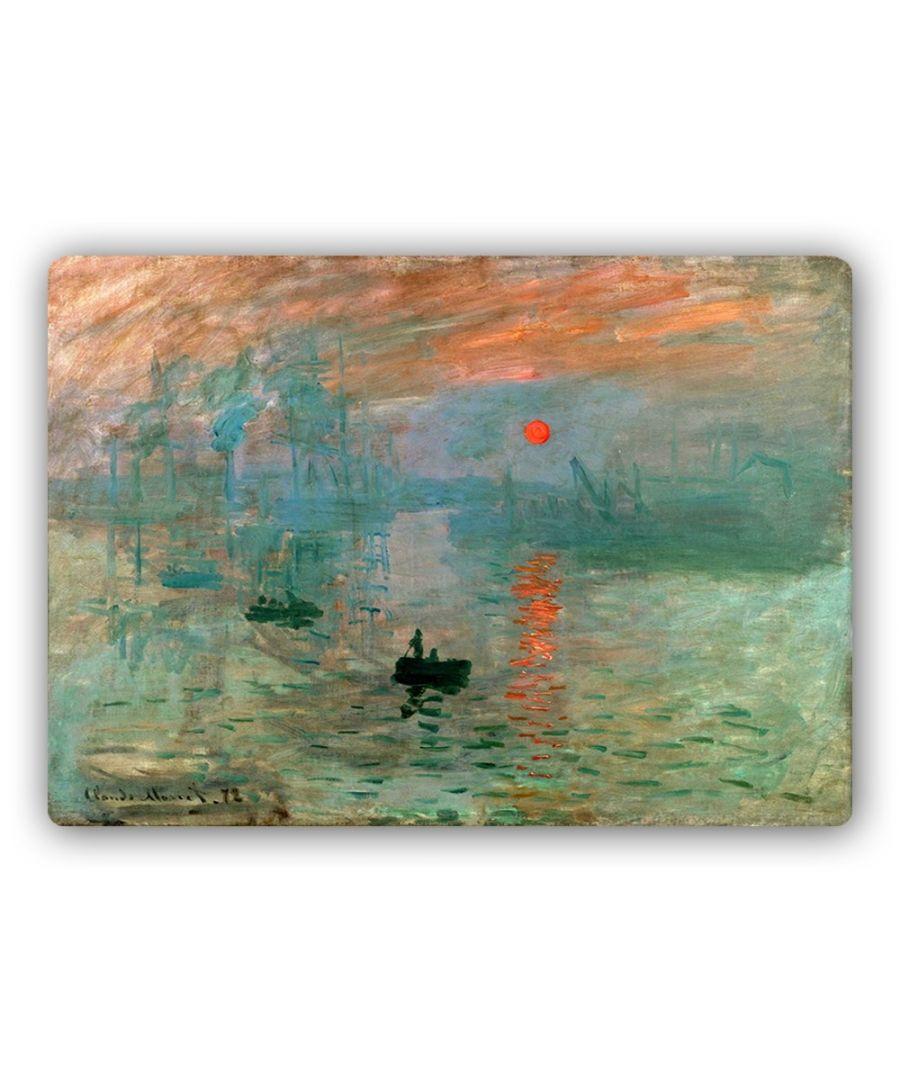 Image for Metal Print - Impression. Sunrise - Claude Monet