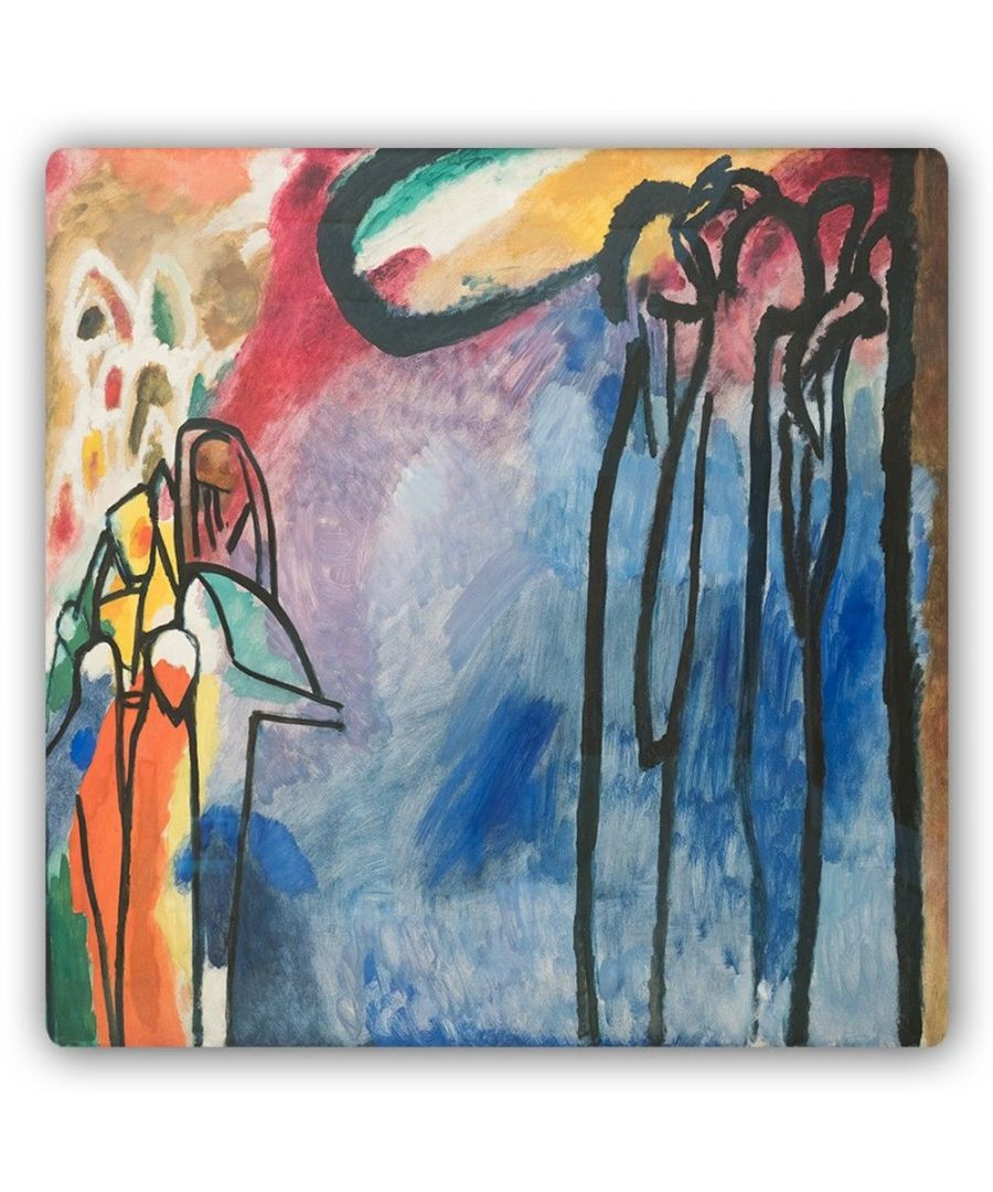 Image for Metal Print - Improvisation 19 - Wassily Kandinsky