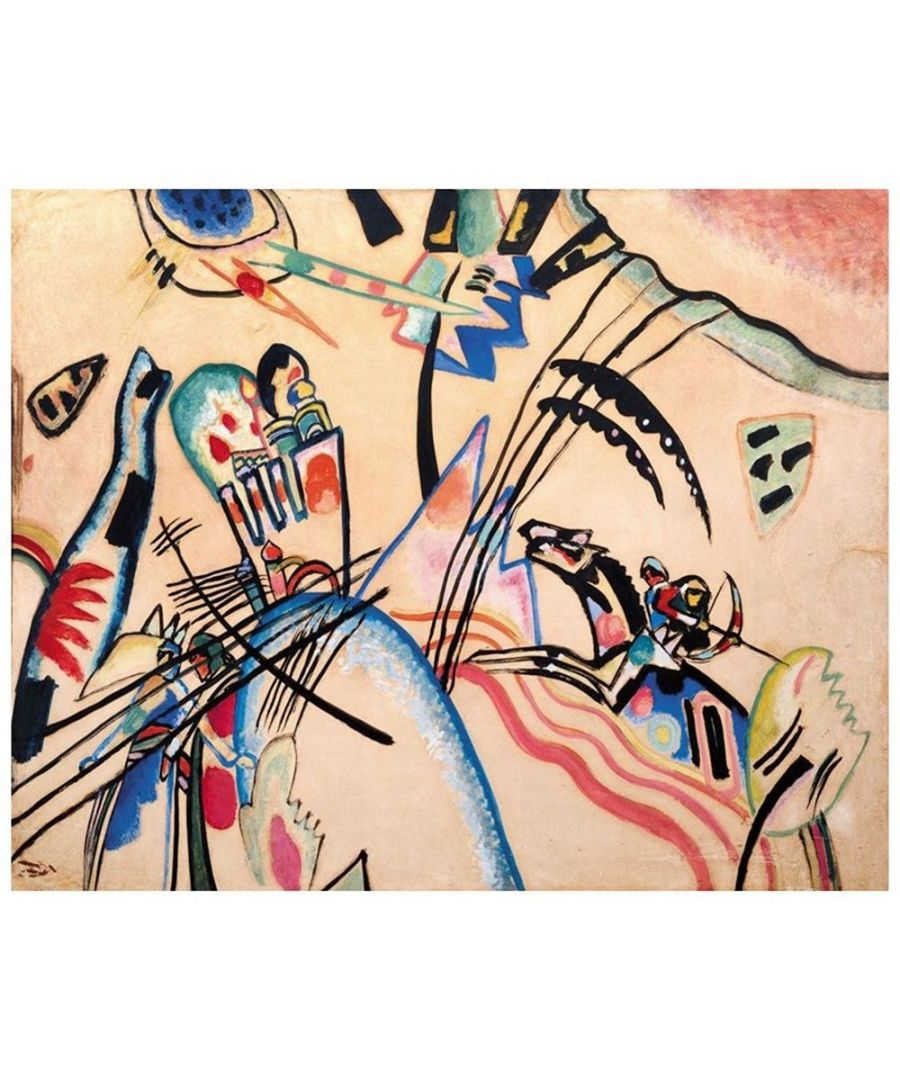 Image for Canvas Print - Improvisation - Wassily Kandinsky Cm. 80x100