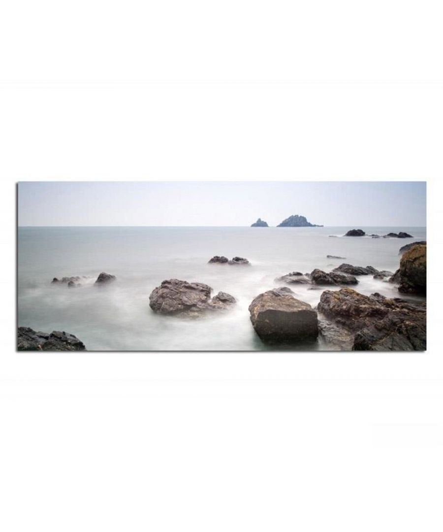 Image for Canvas Print - Rocky Islets Cm. 30x90