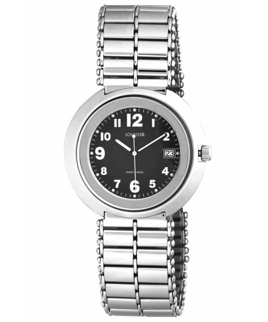 Image for Jowissa Men's Swiss Made Stainless Steel Bracelet Watch - Silver