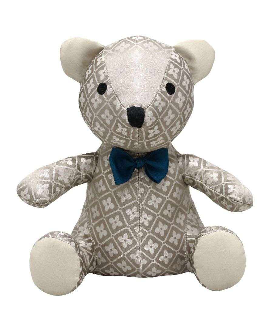 Image for Jacquard Teddy Door Stop Multi