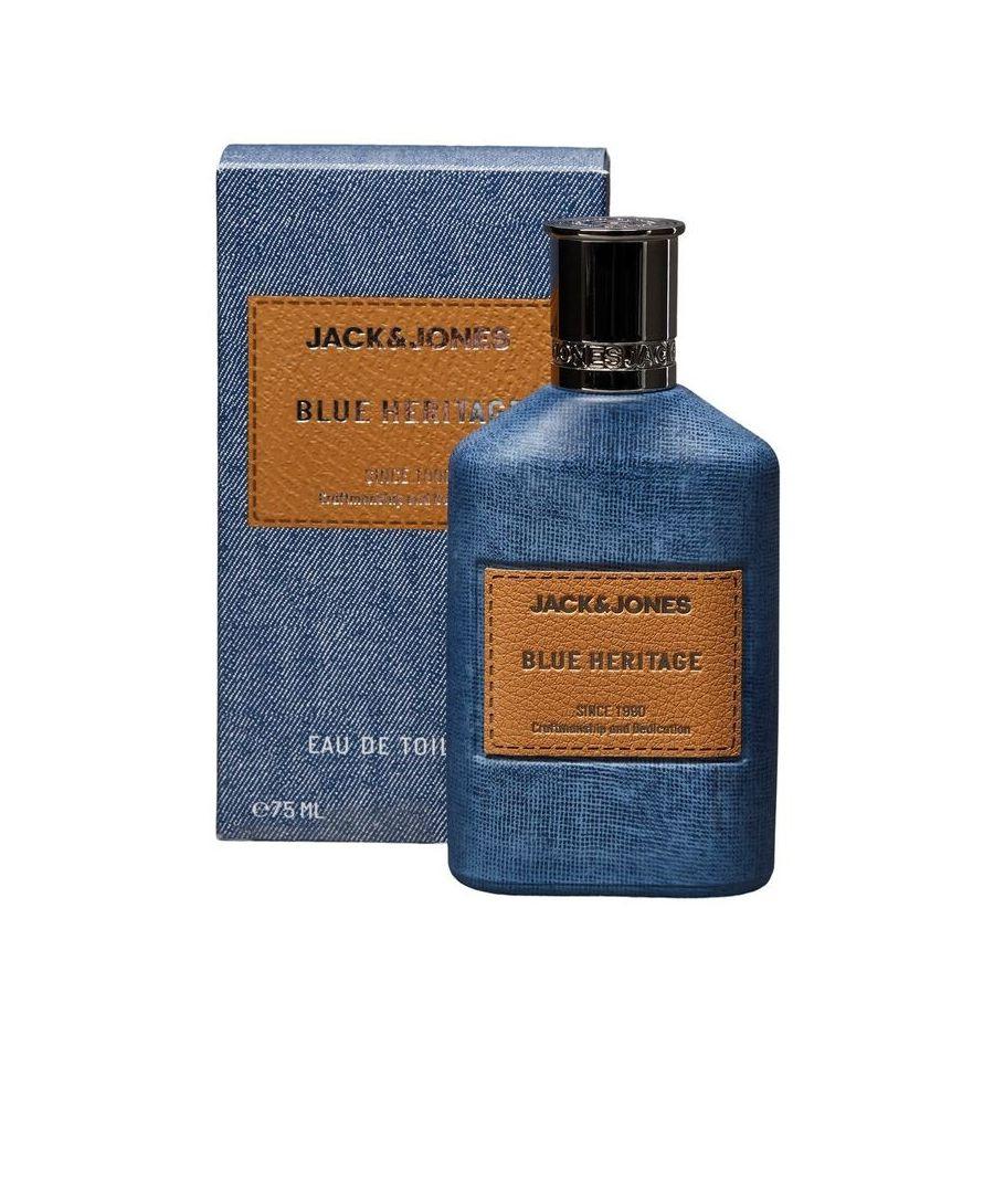 Image for Jack And Jones Blue Heritage Eau De Toilette Spray 75Ml