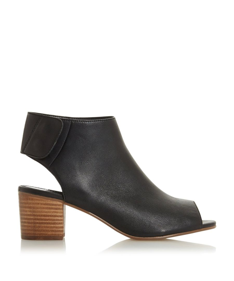 Image for Dune Ladies JAMMY Peep Toe Block Heel Sandals
