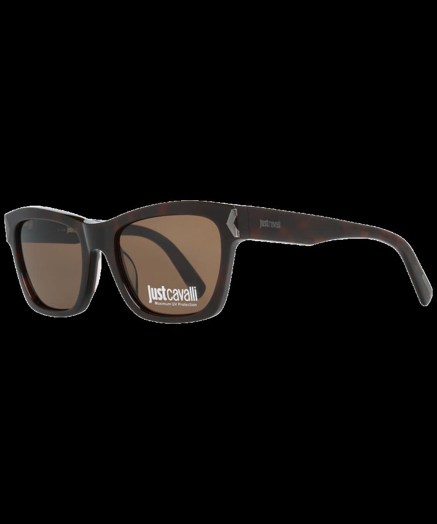 Image for Just Cavalli Sunglasses JC785S 52E 53 Unisex Brown