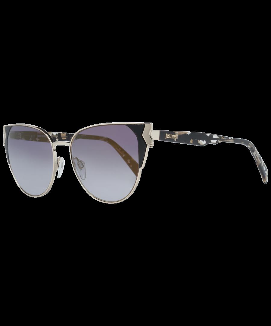 Image for Just Cavalli Sunglasses JC825S 55C 53 Women Gold