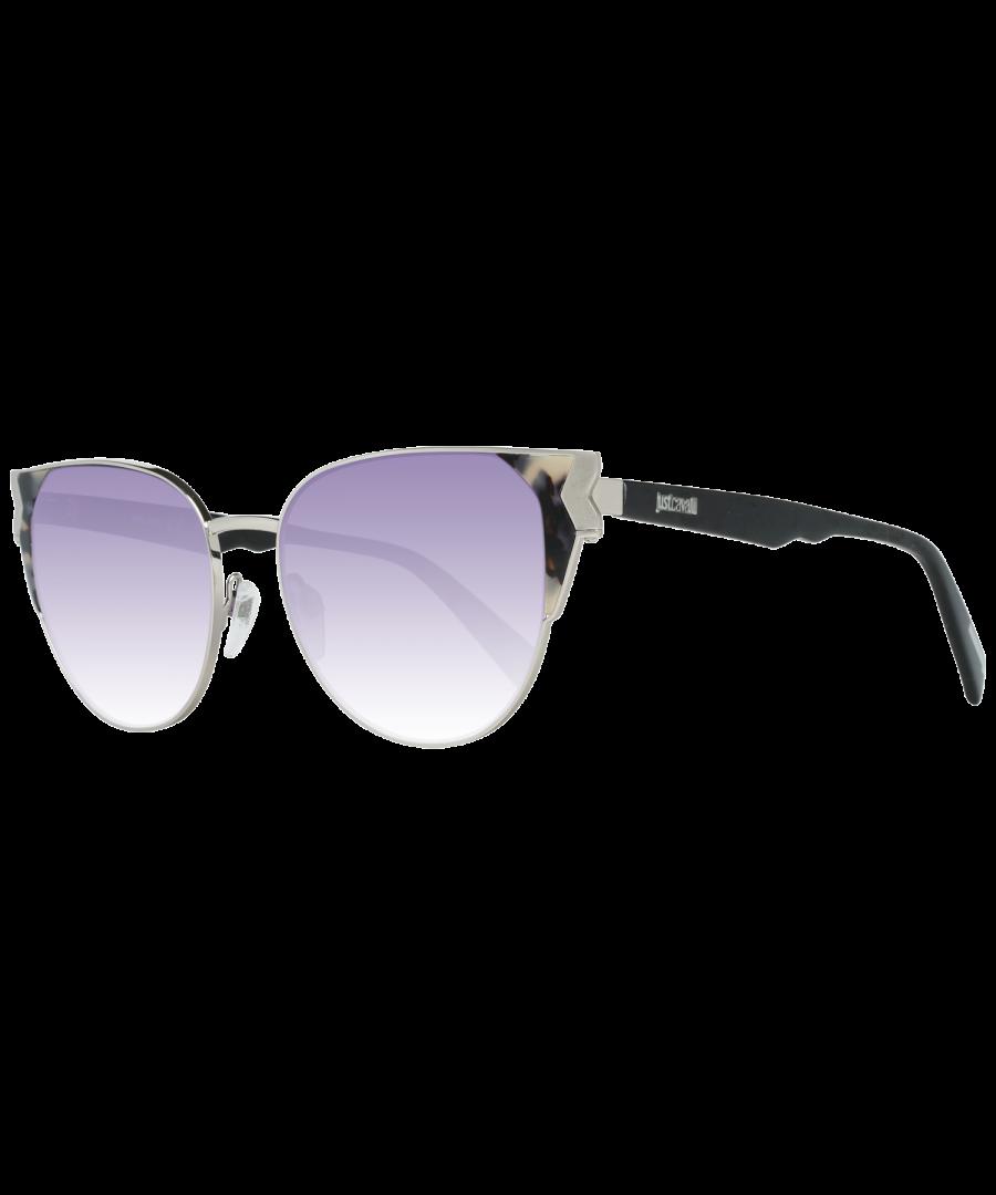 Image for Just Cavalli Sunglasses JC825S 56Z 53 Women Silver