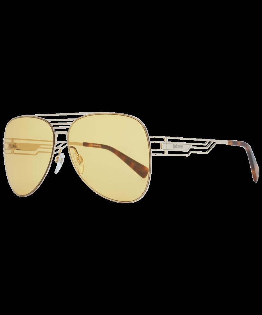 Image for Just Cavalli Sunglasses JC914S 32E 61 Unisex Gold