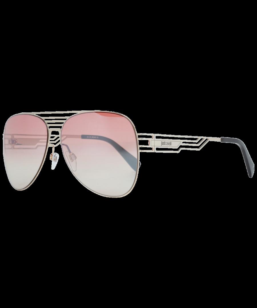Image for Just Cavalli Sunglasses JC914S 32F 61 Unisex Gold
