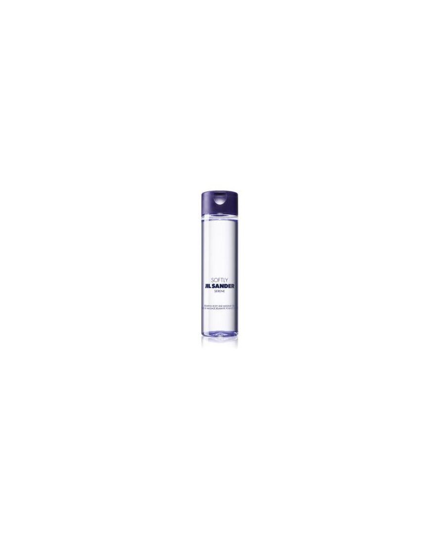 Image for JIL SANDER SOFTLY SERENE BODY OIL 200ML BOXED