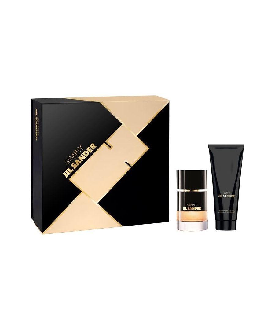 Image for Jil Sander Simply Gift Set 40Ml Eau De Toilette And 75Ml Body Lotion