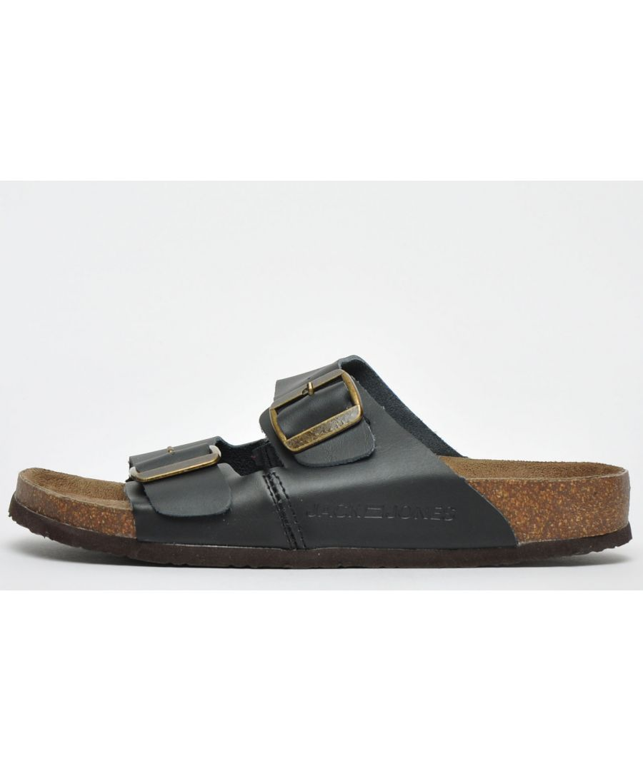 Image for Jack & Jones Croxton Leather Sandals Mens