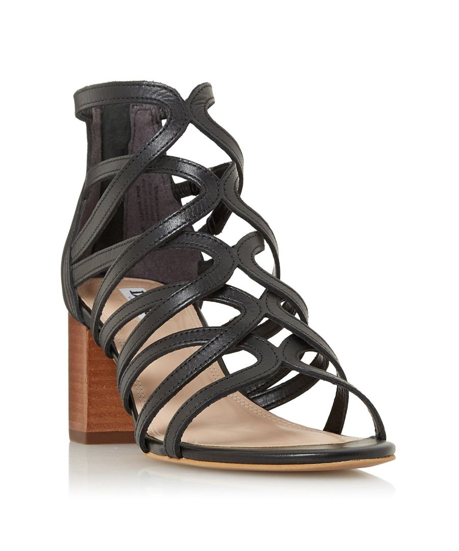 Image for Dune Ladies JOANEY Strappy Block Heel Sandal