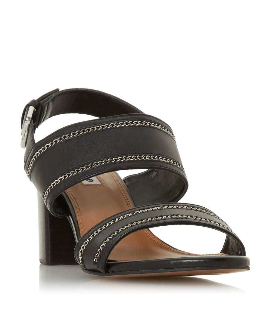 Image for Dune Ladies JOLYNE Chain Detail Double Strap Sandal