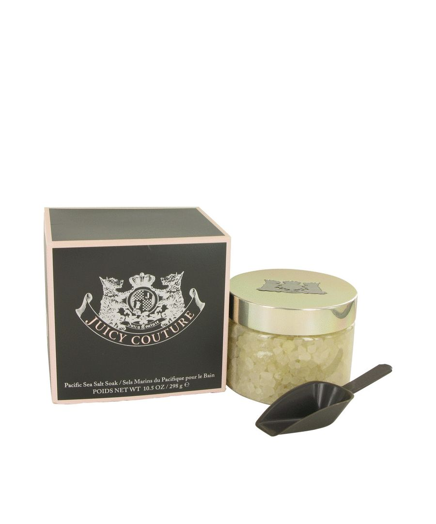 Image for Juicy Couture Pacific Sea Salt Soak in Gift Box By Juicy Couture 311 ml