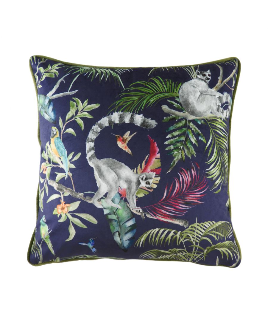 Image for Jungle Lemur Cushion