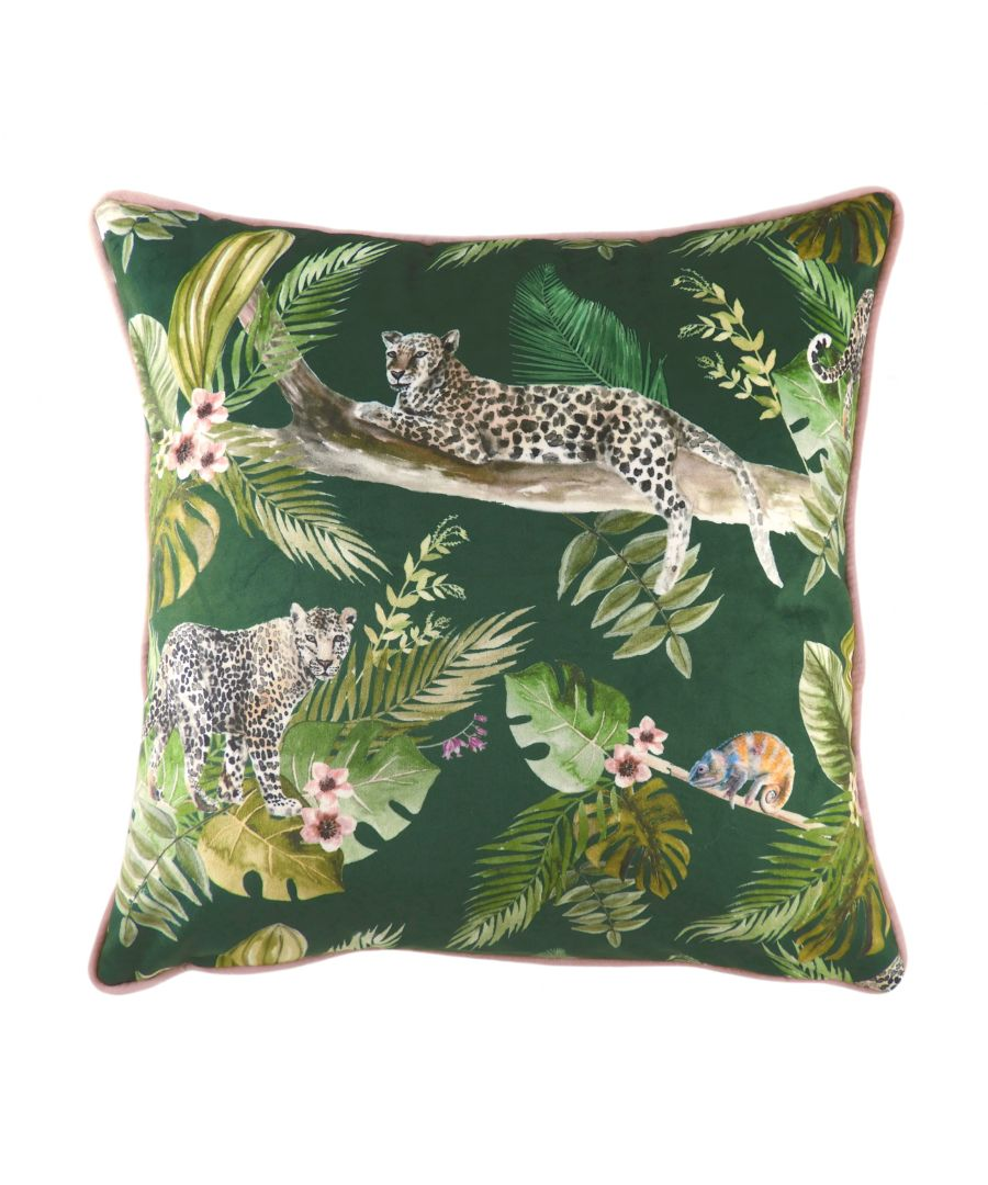 Image for Jungle Leopard Cushion