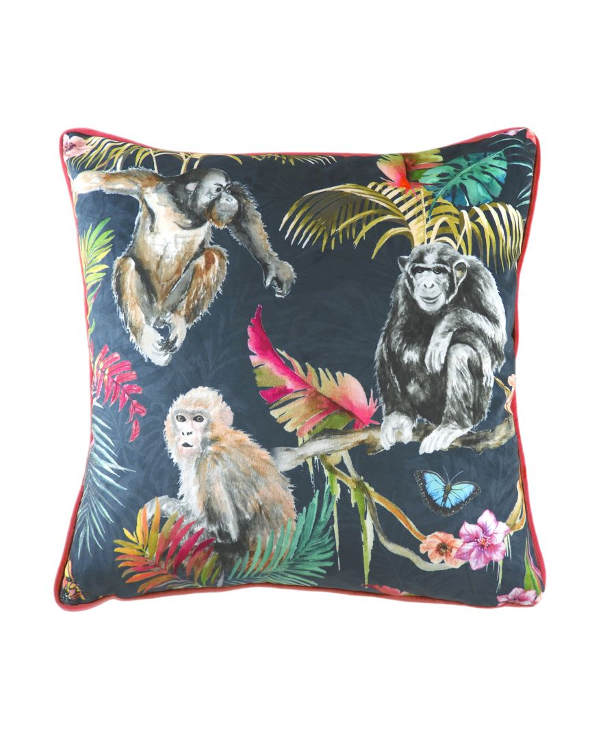Image for Jungle Monkey Cushion
