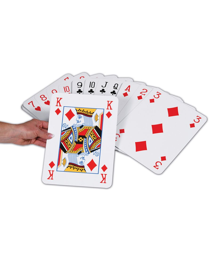 Image for Jumbo Playing Cards Garden Game