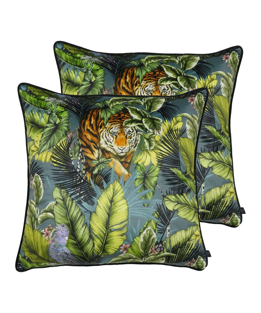 Image for Bengal Tiger Cushions (Twin Pack)