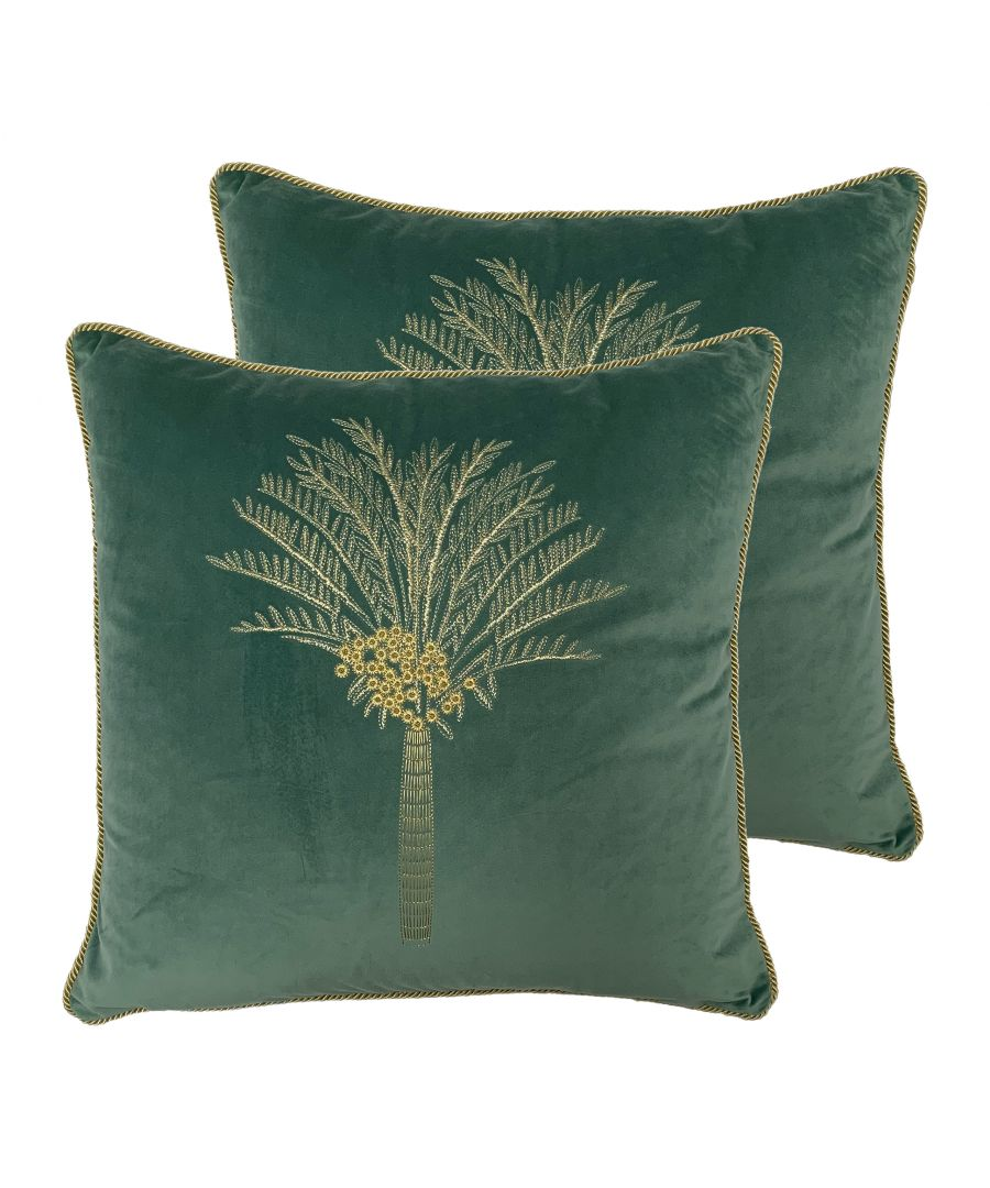 Image for Desert Palm Cushions (Twin Pack)