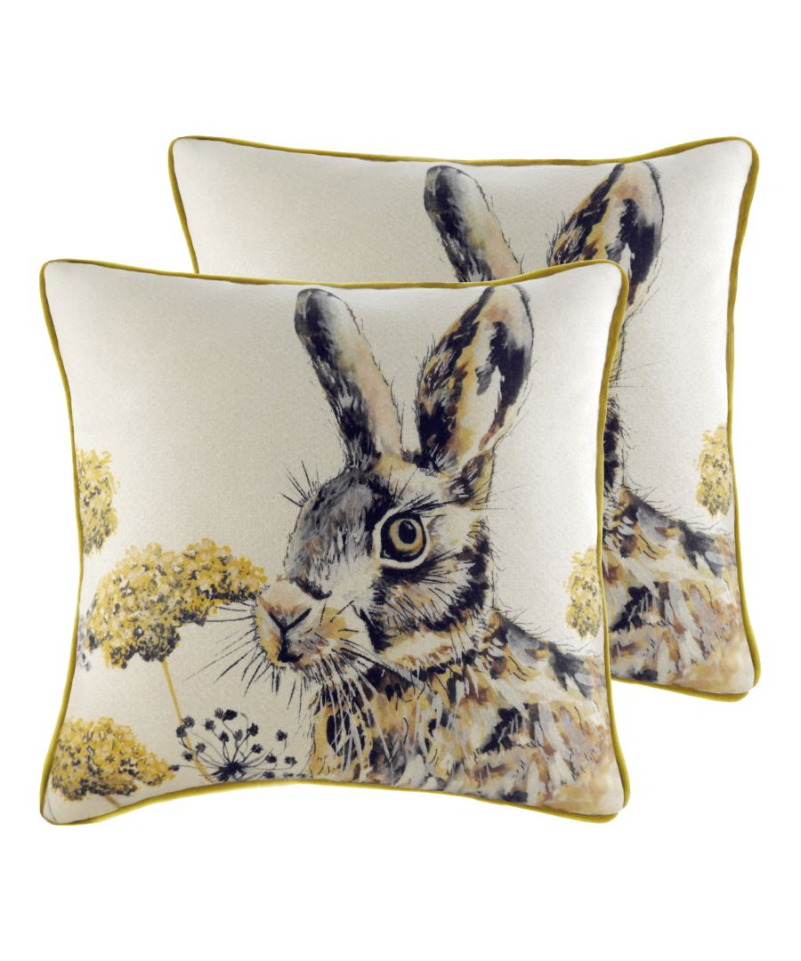 Image for Elwood Hare Cushions (Twin Pack)