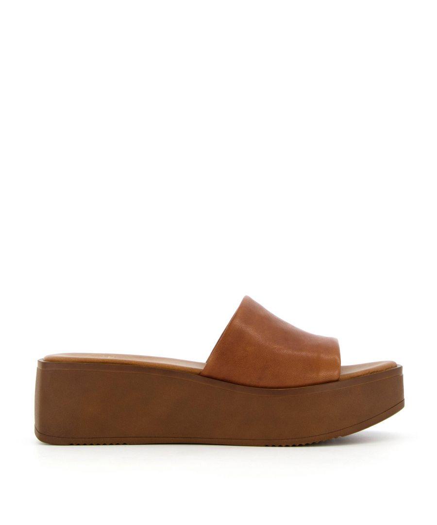 Image for Dune Ladies KADAS Flatform Sliders