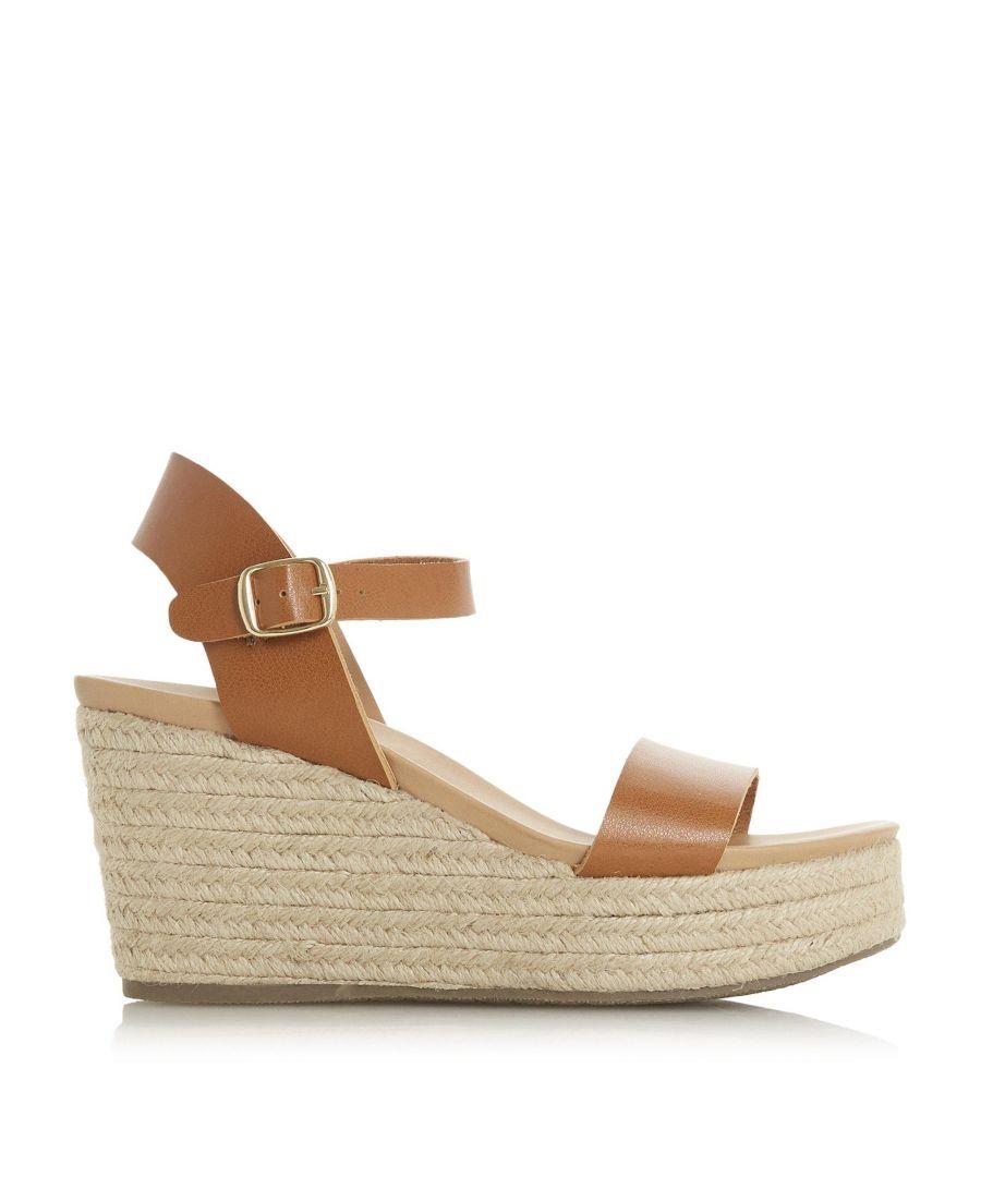 Image for Head Over Heels by Dune Ladies KADIN Espadrille Wedge Sandals