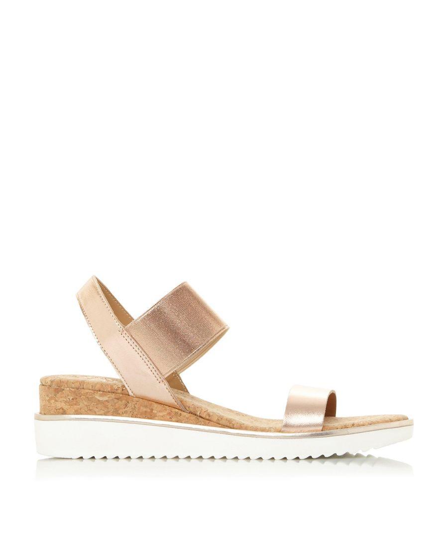 Image for Dune Ladies KALIPPO XX Slingback Wedge Heel Sandals