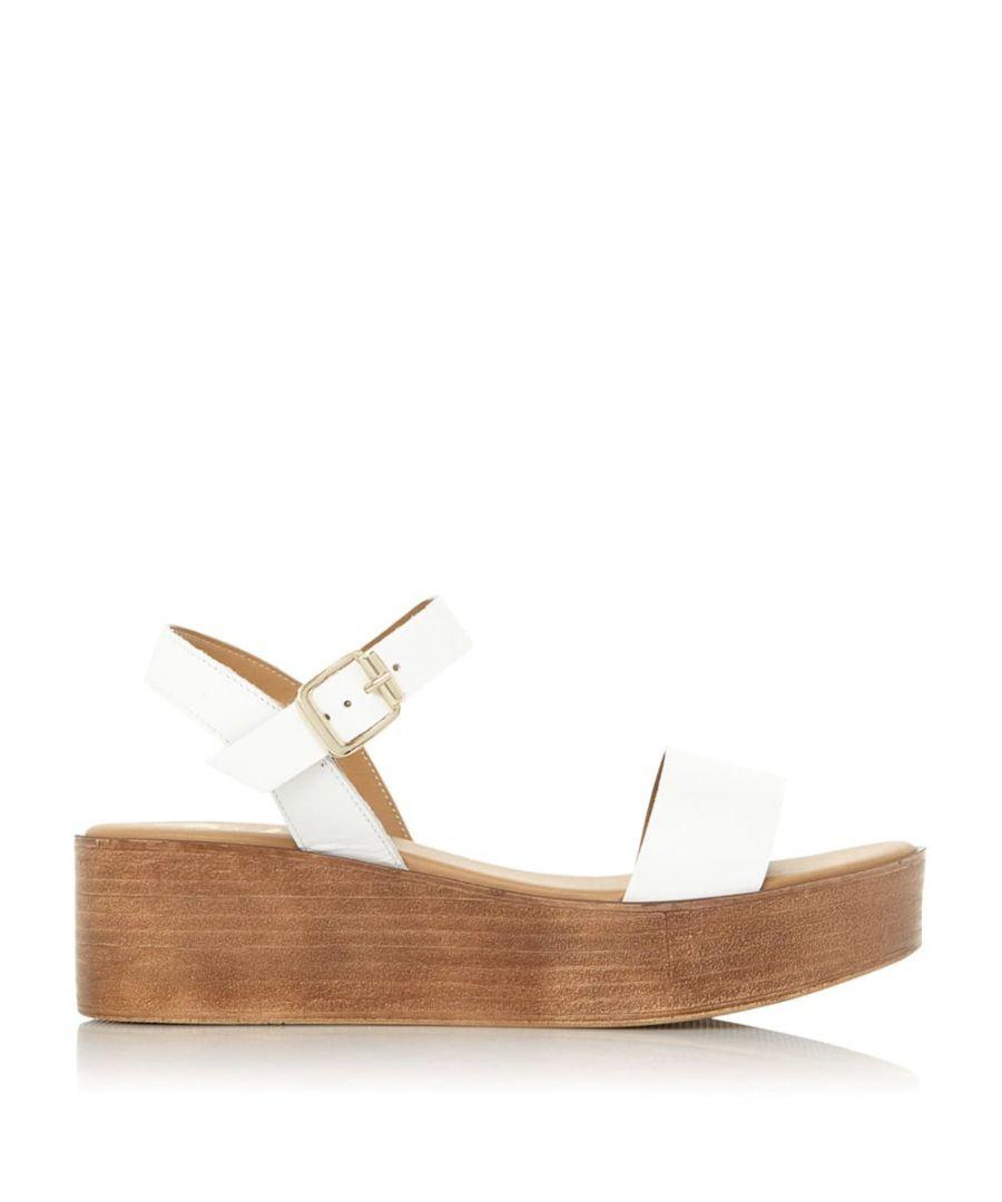 Image for Dune Ladies KALLIE XX Flatform Sandals