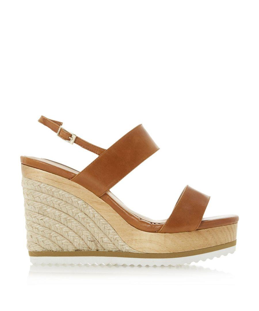Image for Dune Ladies KARII DB Espadrille Wedge Sandals