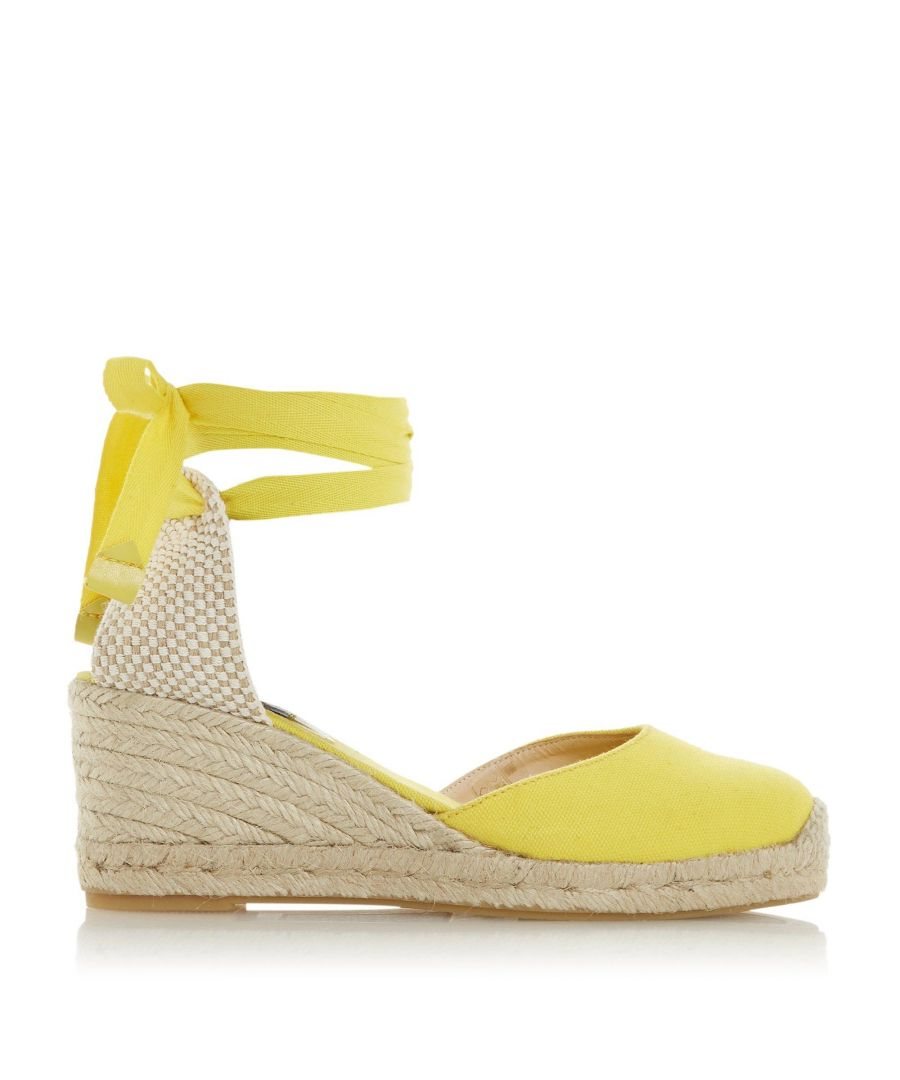 Image for Dune Ladies KASEY Espadrille Wedge Heel Sandals