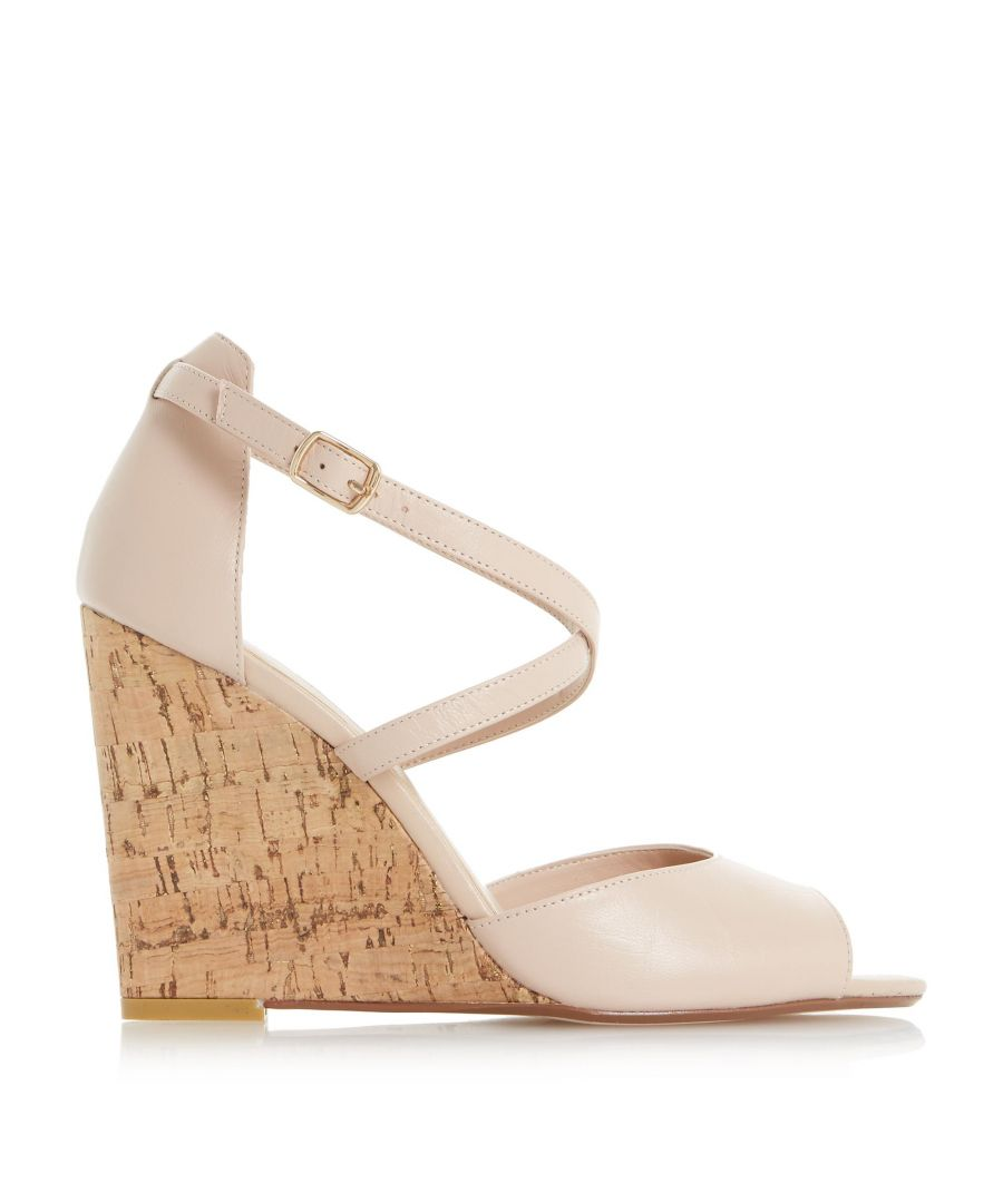 Image for Dune Ladies KASINO Cross Strap Wedge Sandal
