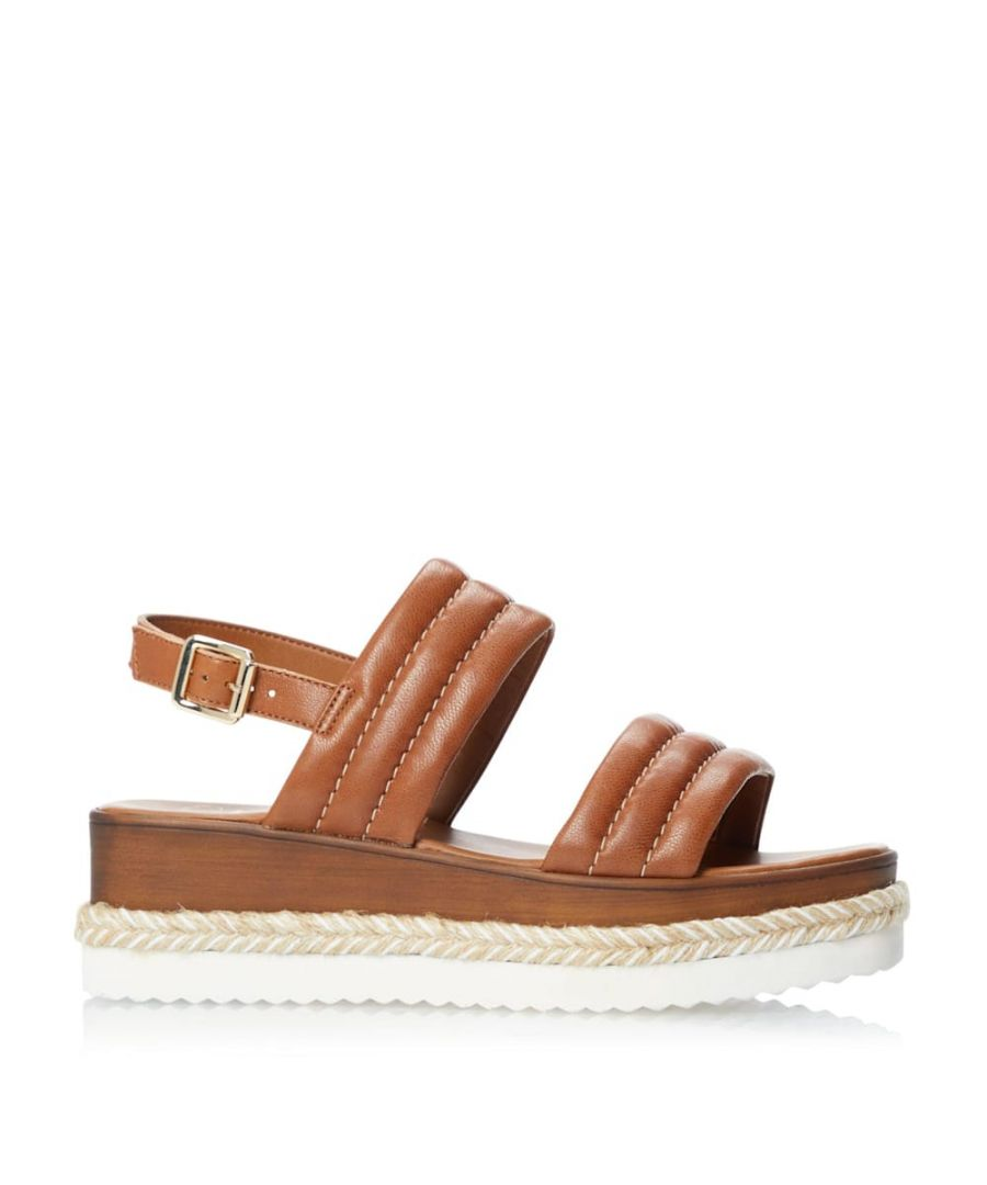 Image for Dune Ladies KAZZY Padded Wedge Sandals